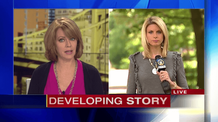 WPXI Freaks Out Over Bridgeville Burglary