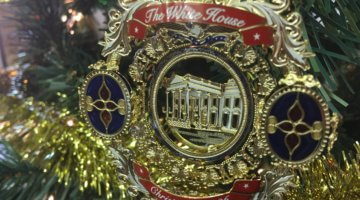 The Historical Society's White House Christmas Tree Is On Display Throughout the Holiday Season
