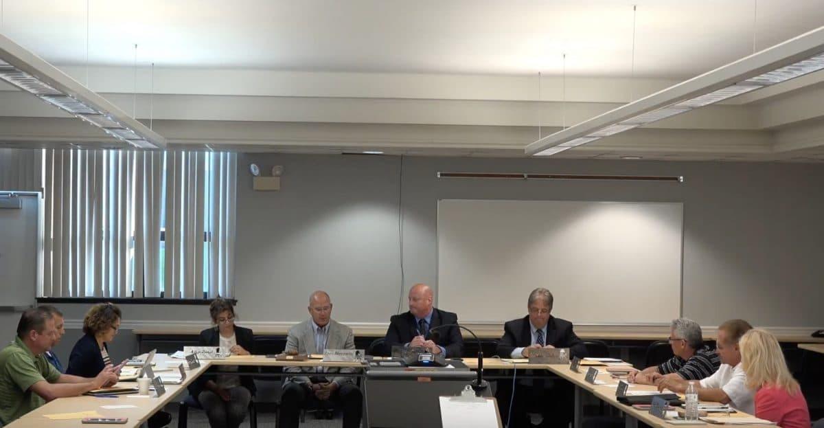 video  chartiers valley school board workshop meeting  aug