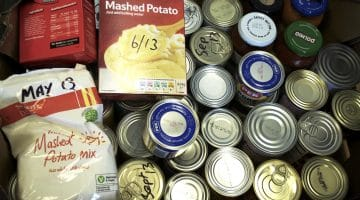 Local Police Departments Launch Food Drive to Benefit Needy Residents