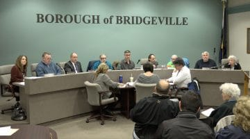 VIDEO: Bridgeville Borough Council, March 12, 2018 Meeting