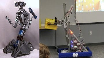 "The CV Robotics Team Basically Built The Machine From ""Short Circuit"""