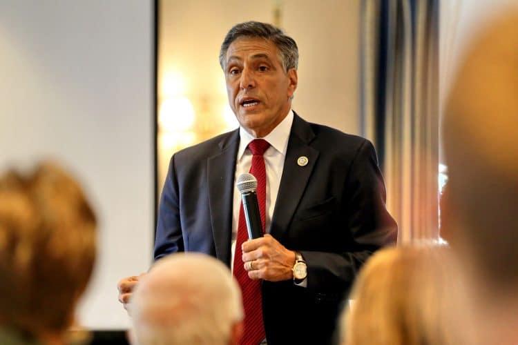 A photo of U.S. Congressman Lou Barletta taken at a 2017 event.